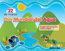 Dia Mundial del Agua. 22 de marzo.